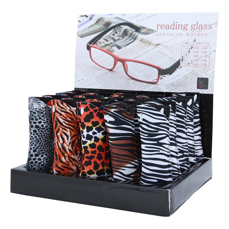 送料無料 リーディンググラス アニマル 30本セット 老眼鏡 シニアグラス おしゃれ かわいい