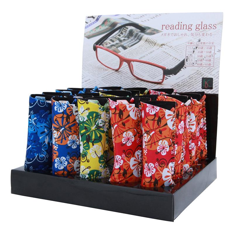送料無料 リーディンググラス ハイビスカス 30本セット 老眼鏡 シニアグラス おしゃれ かわいい
