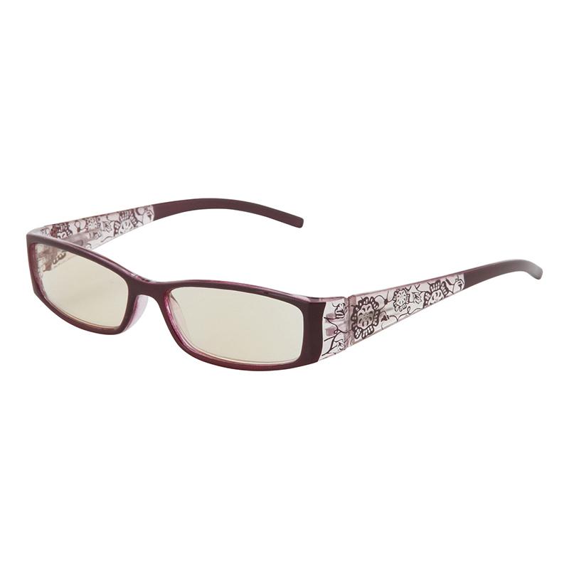 送料無料 10個入り PCリーディンググラス ファッション 1.5度 ブラウン PC眼鏡 スマホ老眼 パソコンメガネ 老眼鏡 シニアグラス おしゃれ かわいい