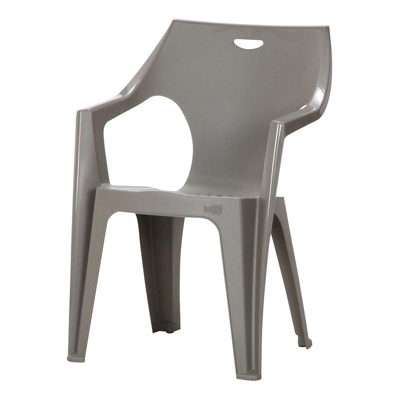 送料無料 4脚セット チェア ガーデンチェアー PCチェアー 肘付き アンジェロ プールサイド いす 椅子 イス ダイニングチェアー リゾート 庭 屋外 野外 アウトドア カフェ アジアン モダン シンプル おしゃれ かわいい グレー