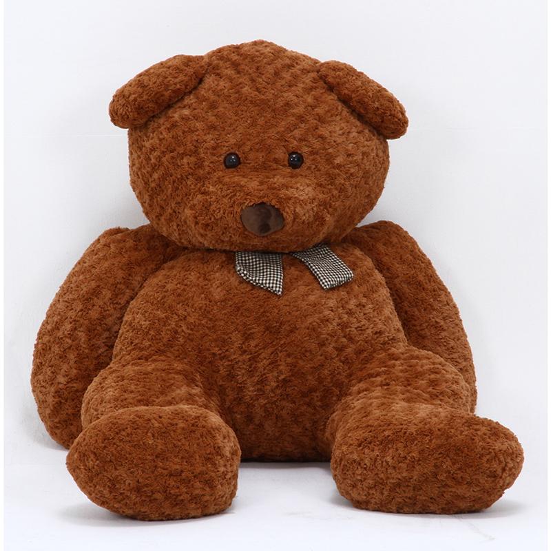 送料無料 クマぬいぐるみ 100cm ブラウン 縫いぐるみ ぬいぐるみ プレゼント おもちゃ 子供 女の子 女性 彼女 ベッド 雑貨 ホワイトデー お祝 出産 誕生日 クリスマス