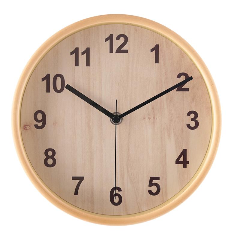 送料無料 3個セット 掛時計 プライウッド Φ22cm ナチュラル 掛け時計 壁掛け ウォールクロック 壁掛け時計 シンプル モダン おしゃれ