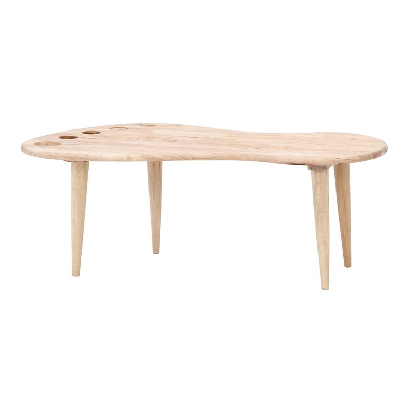 送料無料 Natural Signature センターテーブル FOOT ローテーブル 木製 リビングテーブル カフェテーブル 作業台 シンプル モダン おしゃれ 西海岸 男前インテリア 北欧