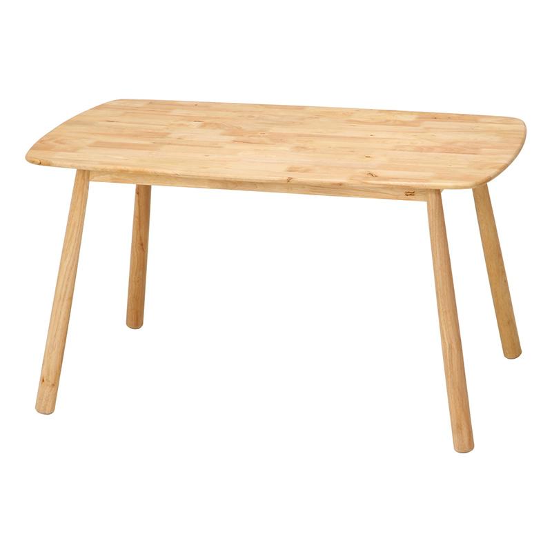 送料無料 ダイニングテーブル 単品 長方形 幅135cm ダイニング テーブル 食卓テーブル 4人掛け 4人用 ティムバ 木製 リビングテーブル 北欧 シンプル モダン 高級感 おしゃれ デザイン ナチュラル