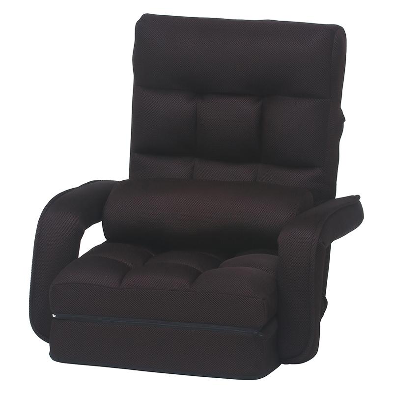 [C/D:38346] 4WAY座椅子 0212 メッシュDBR