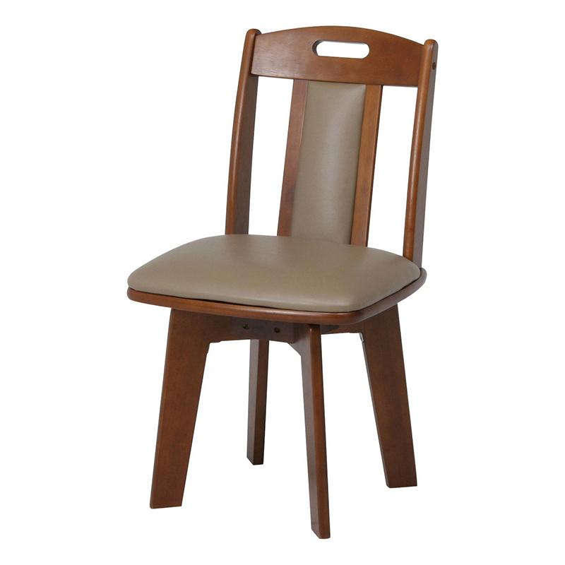 送料無料 ダイニングチェアー 2個入り 1人掛け 回転式 合皮 イス 椅子 いす チェアー チェア 食卓椅子 回転チェアー 1人がけ インテリア 北欧 モダン レトロ 高級感 おしゃれ デザイン ブラウン