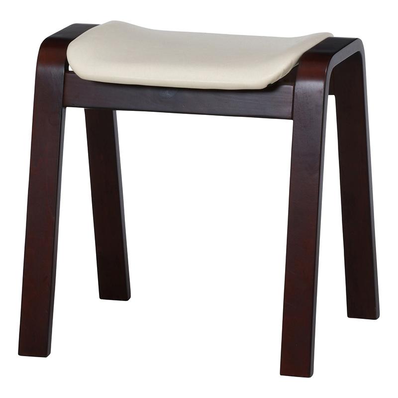 送料無料 4脚セット 曲木スツール スツール イス 椅子 いす チェアー チェア ハイタイプ スタッキング 合皮 腰掛け 木製 会議室 リビング キッチン オフィス シンプル モダン コンパクト おしゃれ かわいい 北欧 アイボリー