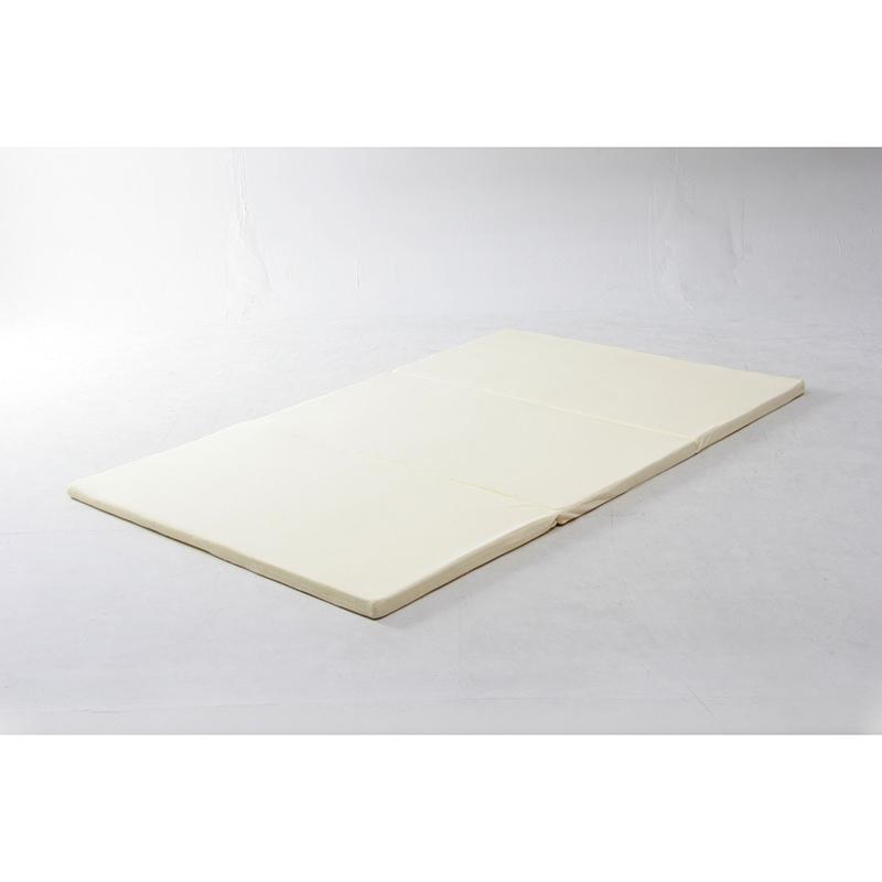 送料無料 低反発三折れマットレス セミダブル 4cm厚 低反発 マットレス マット ベッドマット シンプル 北欧 おしゃれ かわいい