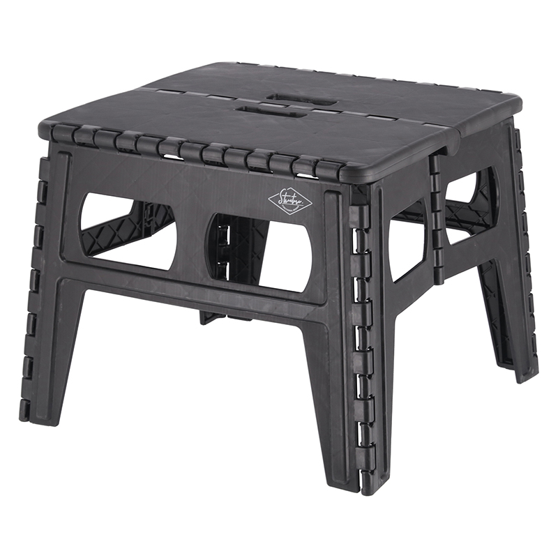 送料無料 3個セット フォールディングテーブル スツール 折りたたみ 簡易テーブル いす イス 椅子 運動会 バルコニー ベランダ テラス ウッドデッキ 庭 アウトドア おしゃれ かわいい 西海岸 男前インテリア 北欧 ブラック