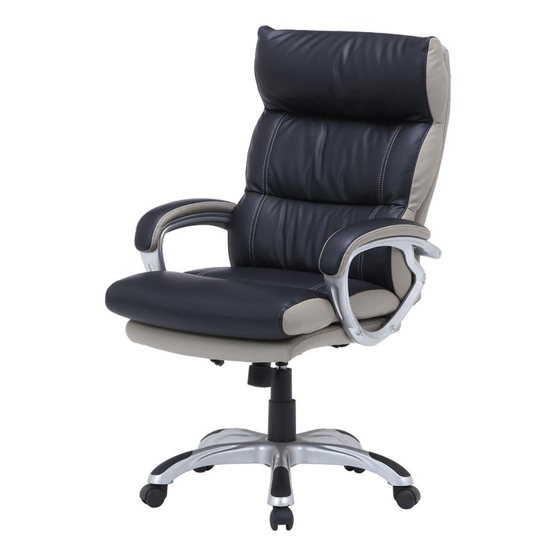 送料無料 コイルスプリングOAチェア パソコンチェアー ポケットコイル いす 椅子 イス オフィスチェアー ワークチェア 事務椅子 デスクチェア ワークチェア PCチェア OAチェア シンプル モダン おしゃれ ブラック