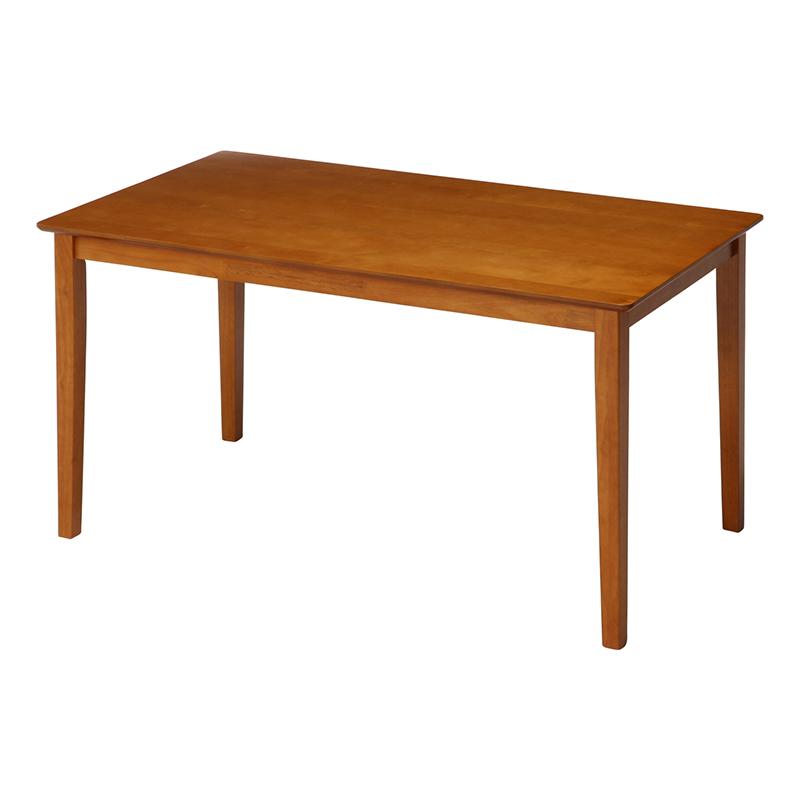 送料無料 ダイニングテーブル 単品 長方形 幅120cm ダイニング テーブル 食卓テーブル 4人掛け 4人用 スノア 木製 リビングテーブル 北欧 モダン レトロ 高級感 おしゃれ デザイン ライトブラウン