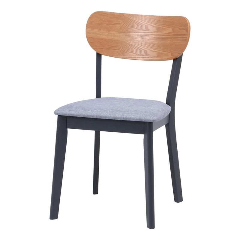 送料無料 ダイニングチェアー 2脚組 2脚セット 1人掛け 木製 ダイニングチェア ノエル イス 椅子 いす チェアー チェア 食卓椅子 1人がけ インテリア 北欧 シンプル モダン 高級感 おしゃれ デザイン ナチュラル×ブラック