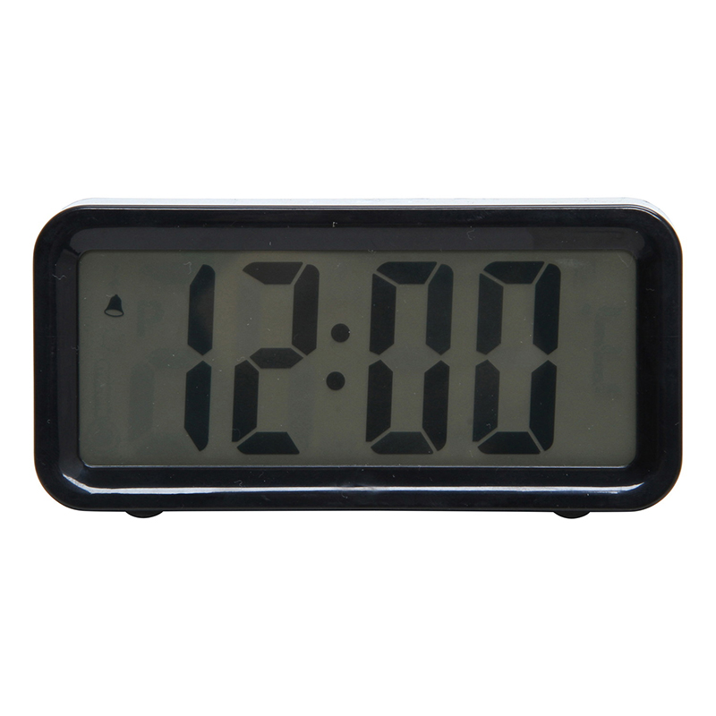 送料無料 6個セット 置時計デジタル ブロック ブラック 置き時計 クロック 時計 シンプル モダン おしゃれ