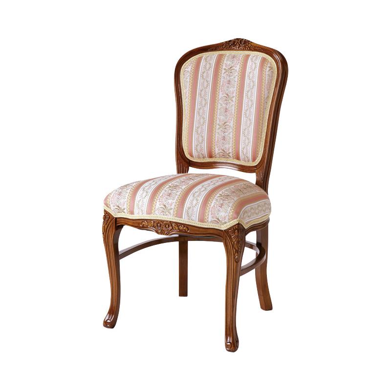 送料無料 チェアー アンティーク アンティークチェア おしゃれ 猫脚 猫 脚 ダイニングチェアー イス 椅子 いす チェア エレガント フレンチ ヨーロピアン クラシック 高級感 ブラウン 茶 SA-C-1175-B5