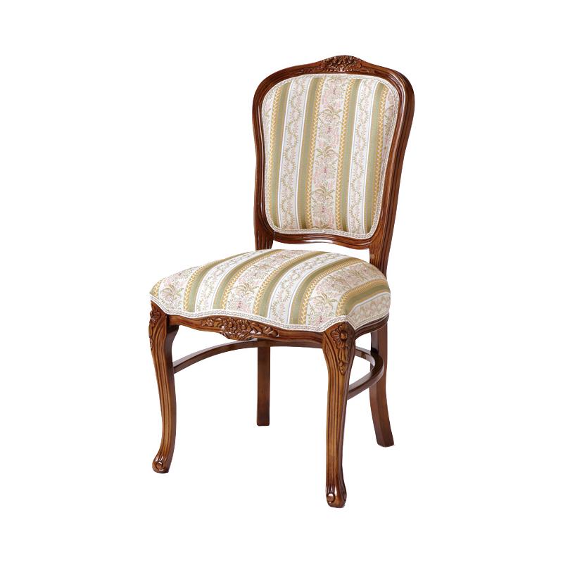 送料無料 チェアー アンティーク アンティークチェア おしゃれ 猫脚 猫 脚 ダイニングチェアー イス 椅子 いす チェア エレガント フレンチ ヨーロピアン クラシック 高級感 ブラウン 茶 SA-C-1175-B1