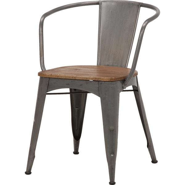 送料無料 ダイニングチェア 2脚組 チェアー 2個セット ダイニングチェアー おしゃれ 木製 椅子 イス チェア チェアー 食卓椅子 アイアン インテリア レトロ ヴィンテージ風 コンパクト 西海岸 男前 インテリア インダストリアル RC-2900