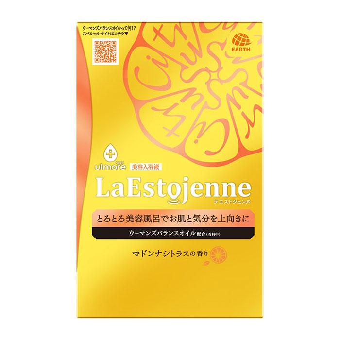 まとめ買い特価 アース製薬 ウルモア ラエストジェンヌ マドンナシトラスの香り 3包 3980円以上で送料無料 お買い得品 離島は除く