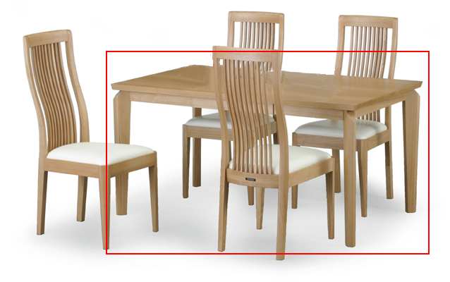 MVP award-winning store canna (CANNA) dining table only T-353 (140)