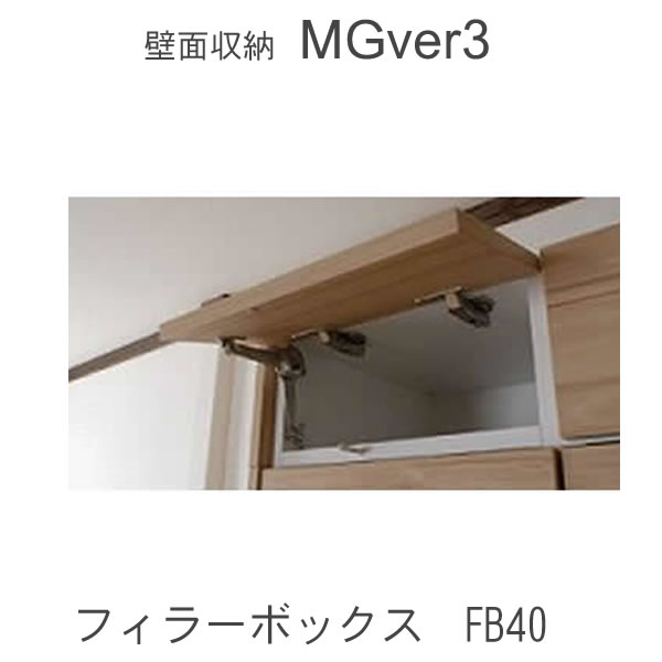 【P10】【条件付きで送料無料・開梱設置】MGver.3 EVE2 FB40 幅40cmフィラーボックス 奥行D47/D32タイプから選択!すえ木工 壁面収納(受注生産品) mg version3 YMG イヴ2 MGS