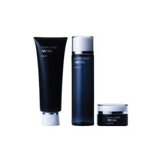 【メンズコスメ】コモエースMEN 3点セット(洗顔フォーム、化粧水、クリーム)