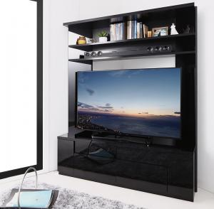 テレビボード テレビ台 鏡面仕上げ 大型テレビ対応ハイタイプコーナーテレビボード Prelumo プレルモ