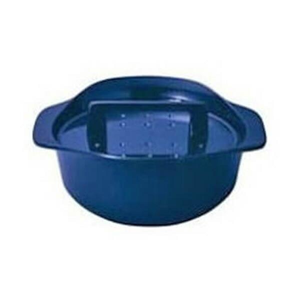 【LP0122DB】ノーリツ コンロオプション 純国産南部鉄器ホーロー鍋(ダークブルー) 【noritz】
