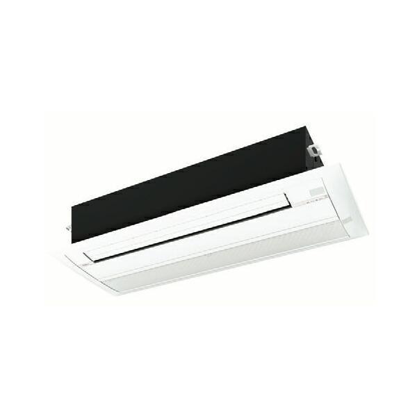 【SSU-RP281YH+OA-RP281HJ】東芝 シングルパック 小能力天井カセット形 1方向吹出しタイプ 10畳 【TOSHIBA】/代引き不可品