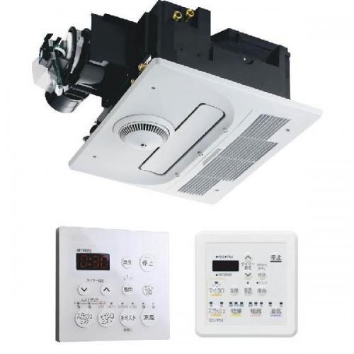 【BDV-M3305AUKNT-BL】ノーリツ 温水式浴室暖房乾燥機 浴室用天井カセット形 1室ミスト機能付/自動乾燥機能付タイプ 標準 【noritz】