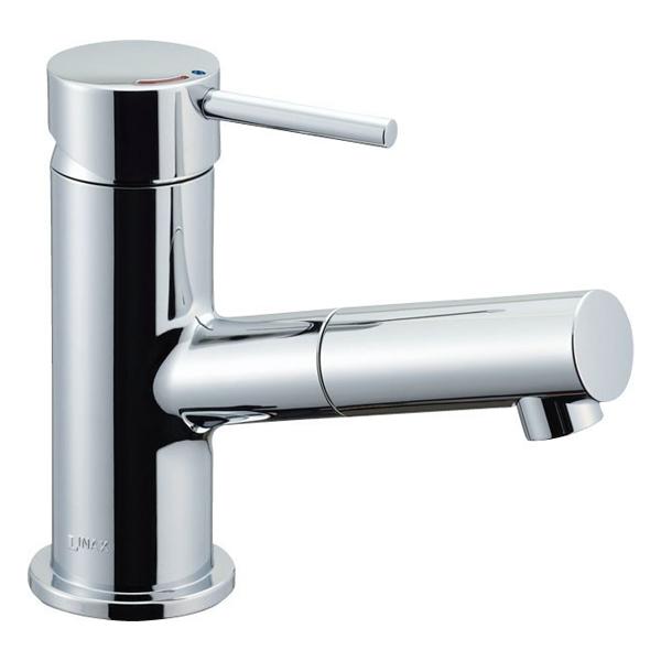 【LF-E345SYC】LIXIL 水栓金具 吐水口引出式シングルレバー混合水栓 eモダン(エコハンドル) 【リクシル】