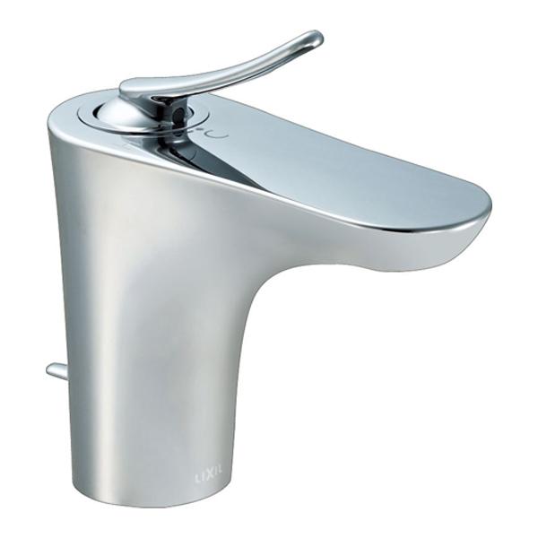 【LF-YB340SY】LIXIL 水栓金具 吐水口引出式シングルレバー混合水栓 FC/ワンホールタイプ ルナート(エコハンドル) 【リクシル】