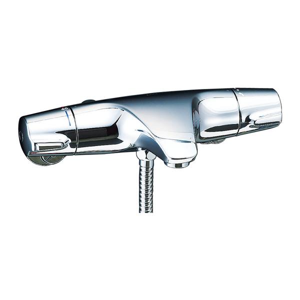 【BF-J147TSC】LIXIL シャワーバス水栓 洗い場専用 サーモスタット ジュエラ+シャワーヘッド 【リクシル】