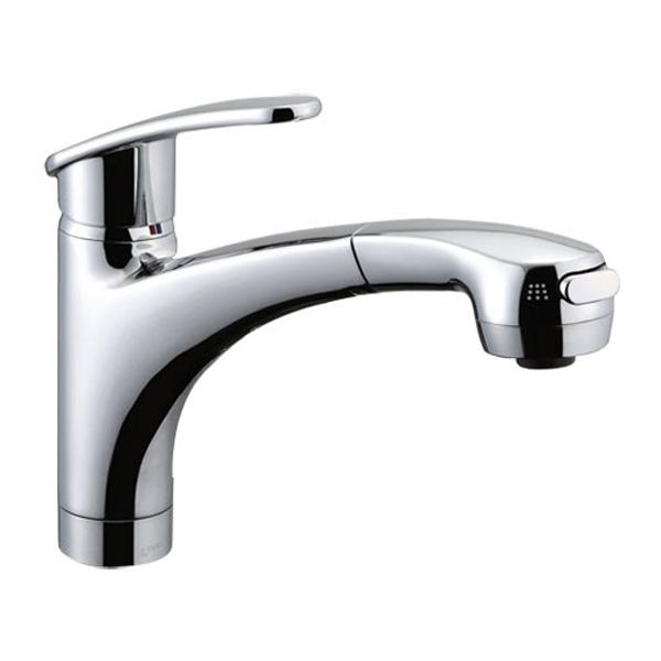 【SF-A451SYXNU】LIXIL キッチン用水栓金具 吐水口引出式(ハンドシャワー付) アウゼ(エコハンドル) 【リクシル】