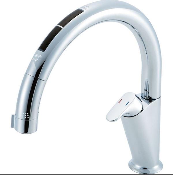 【JF-NA466SU(JW)】LIXIL キッチン用タッチレス水栓 ナビッシュ(浄水器ビルトイン型) A6タイプ 【リクシル】