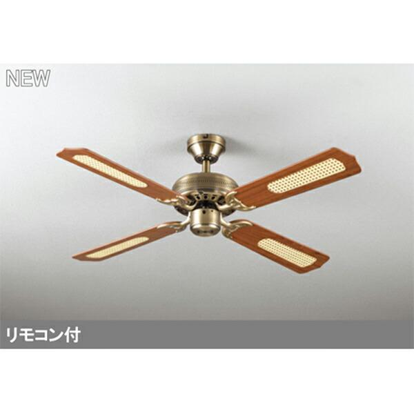 <title>記念日 WF682P2 オーデリック シーリングファン 器具本体 パイプ吊り 4枚羽根 odelic</title>