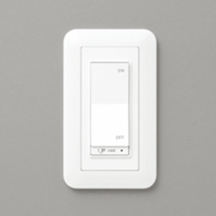 出荷 LC616 オーデリック コネクテッドライティング専用 コントローラー ODELIC [正規販売店] 白色 OFFコネクテッドスイッチ1グループ設定 ON