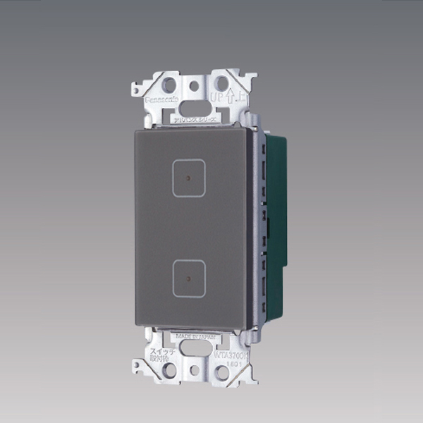 【WTY5902HK】 パナソニック コントローラ アドバンスシリーズ配線器具 タッチ LED調光スイッチ 3線式 2回路用子器