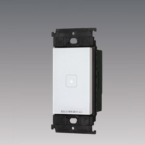 情熱セール WTY5421W パナソニック コントローラ アドバンスシリーズ リンクモデル 3線式 LEDお好み点灯スイッチ タッチ 配線器具 1回路 豊富な品