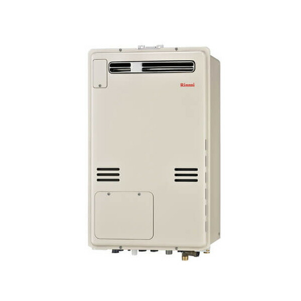 【RUFH-A2400SAW2-1】リンナイ ガス給湯暖房用熱源機 24号 オート 屋外壁掛・PS設置型 【RINNAI】