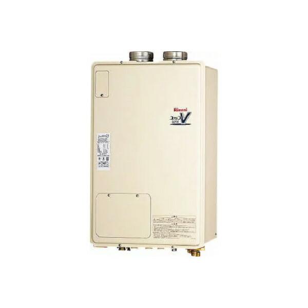 【RUFH-V2403SAFF(B)】リンナイ ガス給湯暖房用熱源機 24号 オート F F 方式・屋内壁掛型 【RINNAI】