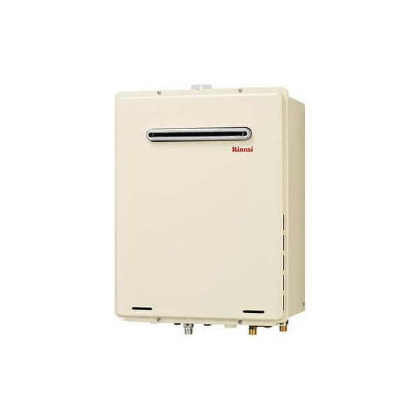 【RUF-A1615AW(B)】リンナイ ガスふろ給湯器 設置フリータイプ 16号 フルオート 屋外壁掛・PS設置型 【RINNAI】