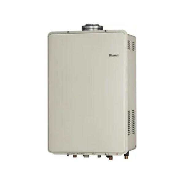 【RUF-V1615AFFD(C)】リンナイ ガスふろ給湯器 設置フリータイプ 16号 フルオート F F 方式・屋内壁掛型 【RINNAI】