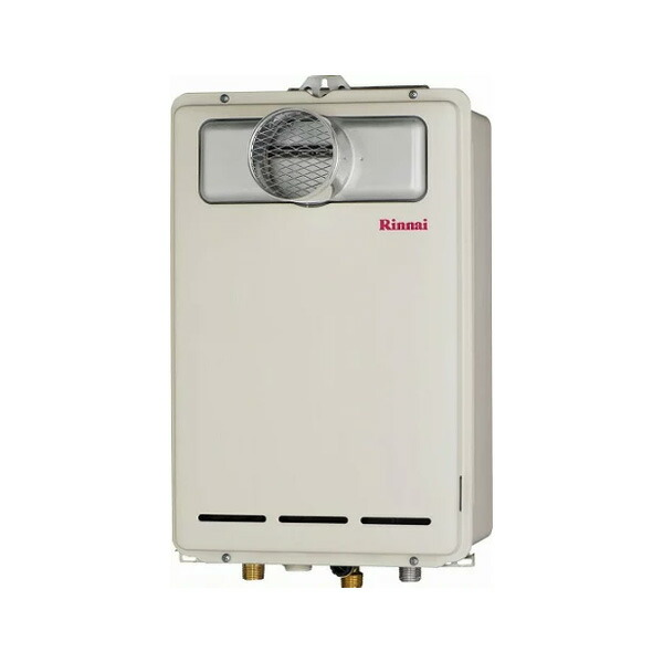 【RUX-A1603T-L】リンナイ ガス給湯専用機 16号 音声ナビ PS扉内設置型/PS延長前排気型 【RINNAI】