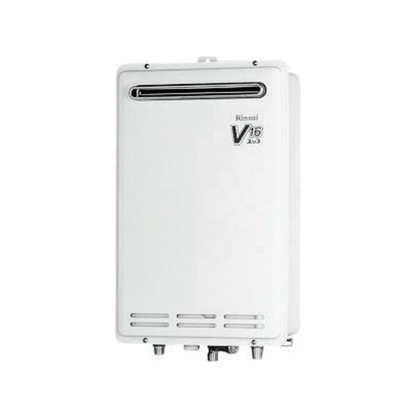 【RUK-V1610W-E】リンナイ ガス給湯専用機 音声ナビ 16号 屋外壁掛型 【RINNAI】