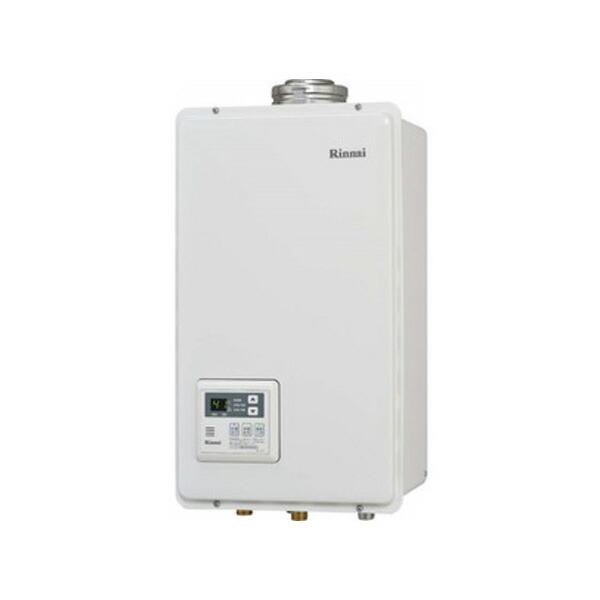 【RUX-V2405FFUA】リンナイ ガス給湯専用機 音声ナビ FF方式・屋内壁掛型 24号 【RINNAI】