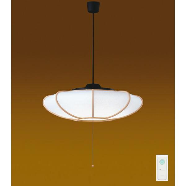【LEDP82006PL-LD】東芝 和風照明 プルかべリモコン LEDペンダント 単色タイプ 曲水 電球色 ~12畳 【toshiba】