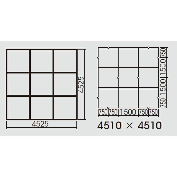 【FYY80079】パナソニック スマートアーキ 9台用取付枠 XFY6600用・XFY4020用 受注生産品 【panasonic】