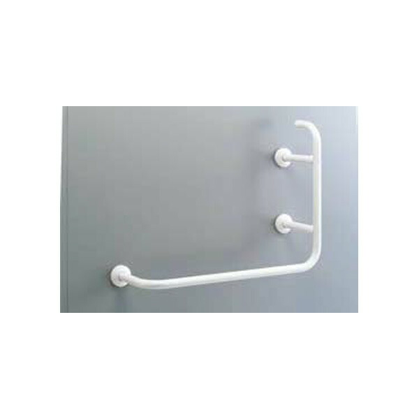 【KF-927AEL80/WA】リクシル 各種施設用固定式手すり 多用途用手すり(L型) 樹脂被覆タイプ 左仕様 【LIXIL】