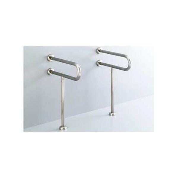 【KF-312S70】リクシル 各種施設用固定式手すり 洗面器用手すり(壁床固定式) ステンレスタイプ 【LIXIL】