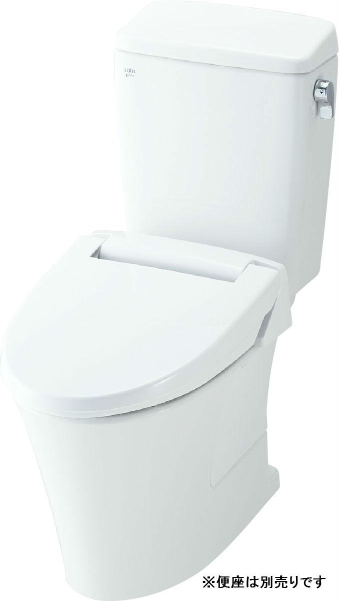 【YBC-ZA10H+DT-ZA150HN】リクシル アメージュZ便器 リトイレ フチレス 手洗い無 床250~550mm 寒冷地 水抜方式 【LIXIL】