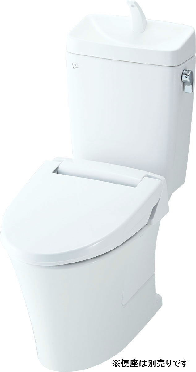 【YBC-ZA10P+YDT-ZA180EP】リクシル アメージュZ便器 フチレス 手洗い付 床上排水 アクアセラミック 【LIXIL】